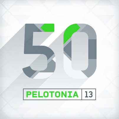 Pelotonia 2013 50 Mile Badge