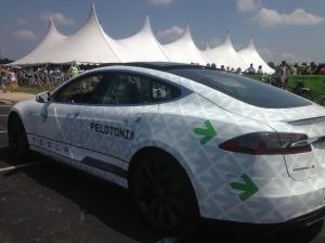 #Tesla #Pelotonia
