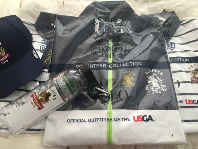Sneak peek at the gear worn by some of the volunteers at the U.S. Open, Oakmont 2016